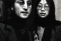 John Lennon and May Pang..
