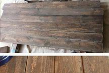 clean wood pallet