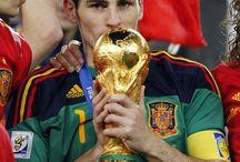 Los futbolistas Españoles