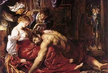 Painting. Old Testament / Картины на ветхозаветные библейские сюжеты.
