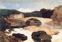"""John Sell Cotman / John Sell Cotman (1782-1842) was one of the finest English artists of the Romantic era. The son of a Norwich barber turned draper, Cotman taught himself drawing as a boy and moved to London in 1798 """"to learn to be a painter"""" at age 16.   Sadly, Cotman died in obscurity (Ruskin and Turner never mention him), and an appreciation of his works did not begin until the late Victorian era. Since then, however, his stature as a watercolorist and etcher has only increased."""