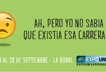 ExpoUniversidad 2014 del 24 al 28 de Septiembre en La Rural