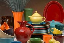 Fiesta Dishes / I love color!