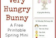 Easter/ Spring speech therapy