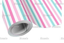Flamingo Pink Baby Shower / This collection features a cute pink flamingo baby and mother. The background consists of green chevrons, white polka dots on pink and a baby pink, turquoise blue and hot pink stripe ribbon.