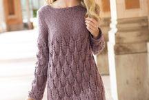 Pletení - šaty