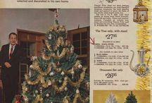 Vintage holiday ads