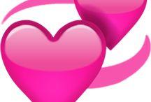 transparent love hearts