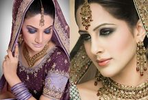 Asian Bridal make up / South Asian Wedding ideas by Asian Bride Magazine. Including  Pakistani  Weddings, Indian Weddings and Mixed Weddings. Asian fashion, beauty, wedding.  For more detail:  www.inoabeauty.com