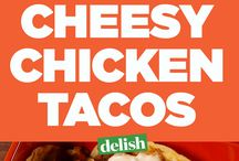 Cheese Chicken Tacos