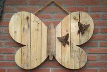 houtdecoratie