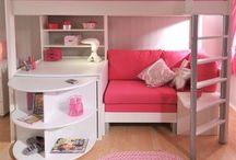 Pink slaapkamer