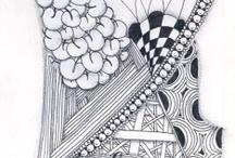ART...Zentangle tiles