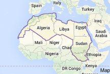 Pray for Northern Africa / Algeria, Libya, Egypt, Sudan