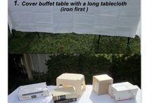 allestimento buffet