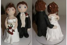 Polymer Clay Miniatures & Cake Topper Ideas