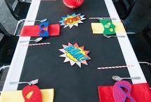 Superhero  Party Ideas / Crafts, games, recipes, fun food treats and more for a great Superhero birthday party!