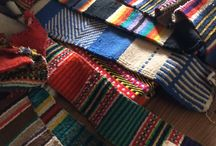 Inspired   Wonderful weaving / Woven carpets - from our travels ; what are your favorite patterns?