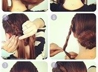 Hairstyles / Cute and beautiful updoes