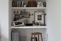 HOME / Office at home / Ideas for desks and office space at home