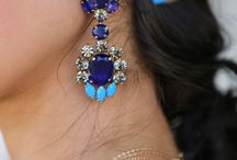 Earrings&nakelace /  Rainbow Jewels
