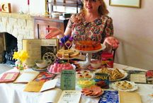 Wartime Cookery - Creating A Retro Tea Party / Lots of helpful tips & hints to inspire you to have a go at creating a 1940s, ration book recipe inspired, tea party. All easy to make, low cost (many items you may already have in your store cupboard) and surprisingly tasty! More recipes can be found on my retro food blog https://vivablancmange.wordpress.com/