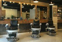 barbershop decor plan