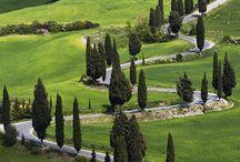 around Tuscany