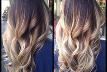 Hair-ombre for brunettes