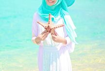 hijab beach outfit