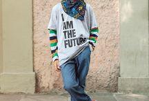 Meninos Street Style / Veja aqui visuais descolados com uma pegada urbana que separei para os meninos.