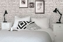 Blanc briques blanches