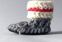 Baby slippers, baby booties, newborn shoes