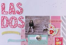 Mis Layout Scrapbooking / Layout de Scrapbooking