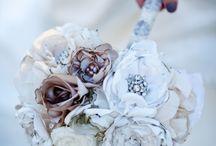 Wedding bouquets / Vintage,handmade,shabby chic,