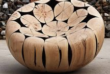 Wooden Objects in New Ways / Use of wood in new and different creative ways for inspiration.