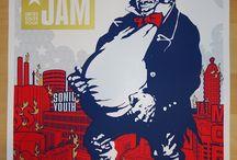 poster musicali