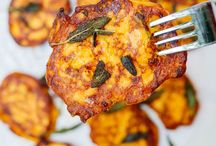 Recipes pumpkin & sweet potatoes