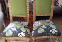 Sedute / Come dare nuova vita a vecchie sedie trovate in solaio?