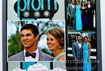 prom scrapbooking