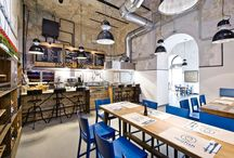 Creative space for everyone! / Public interiors don't have to be boring, practical and utilitarian spaces. Some of them can surprise you by a really creative arrangement and unexpected choice of decorations!
