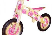 loopfietsen / We hebben verschillende loopfietsen. Hip en trendy, in veel verschillende kleuren en maten.