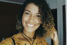 Curly hair / inspiração cachos