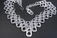 Nipsukorut / pull tab jewellery