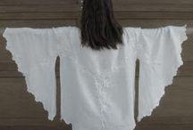 Blusen aus Tischdecke