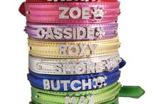 Crystal Dog Collars / Bling Dog Collars, Crystal Dog Collar - Hot Dog Collars