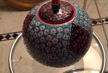 Turkish pottery.I love it! / Turkish