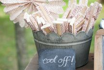 Backyard Weddings / Inspiration and ideas for the perfect backyard wedding! / by Elli