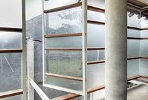 Windows & Light / Light features via windows, glass openings and cutouts, verandas, pass throughs, porches, etc...