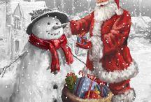 świąteczne obrazki